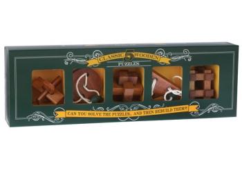 5 классических деревянных головоломок