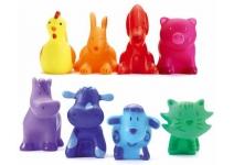 8 ярких животных (набор)