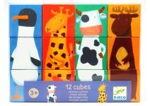 Кубики Животные